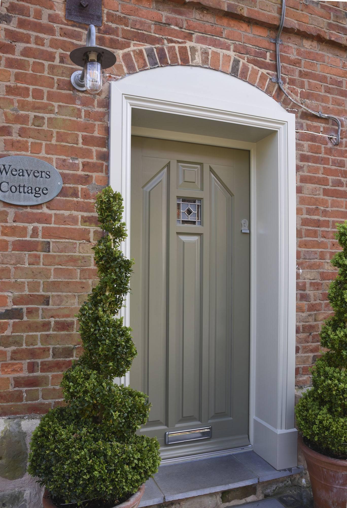 Timber Entrance Doors Front Door Double Glazed