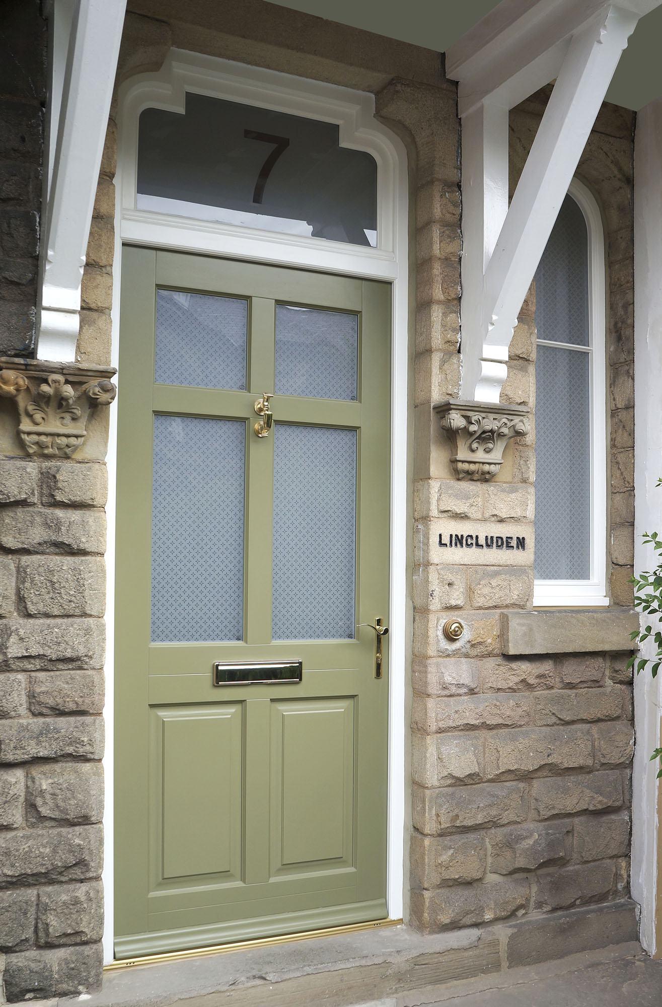 Timber Entrance Doors | Timber Front Door | Double Glazed ...