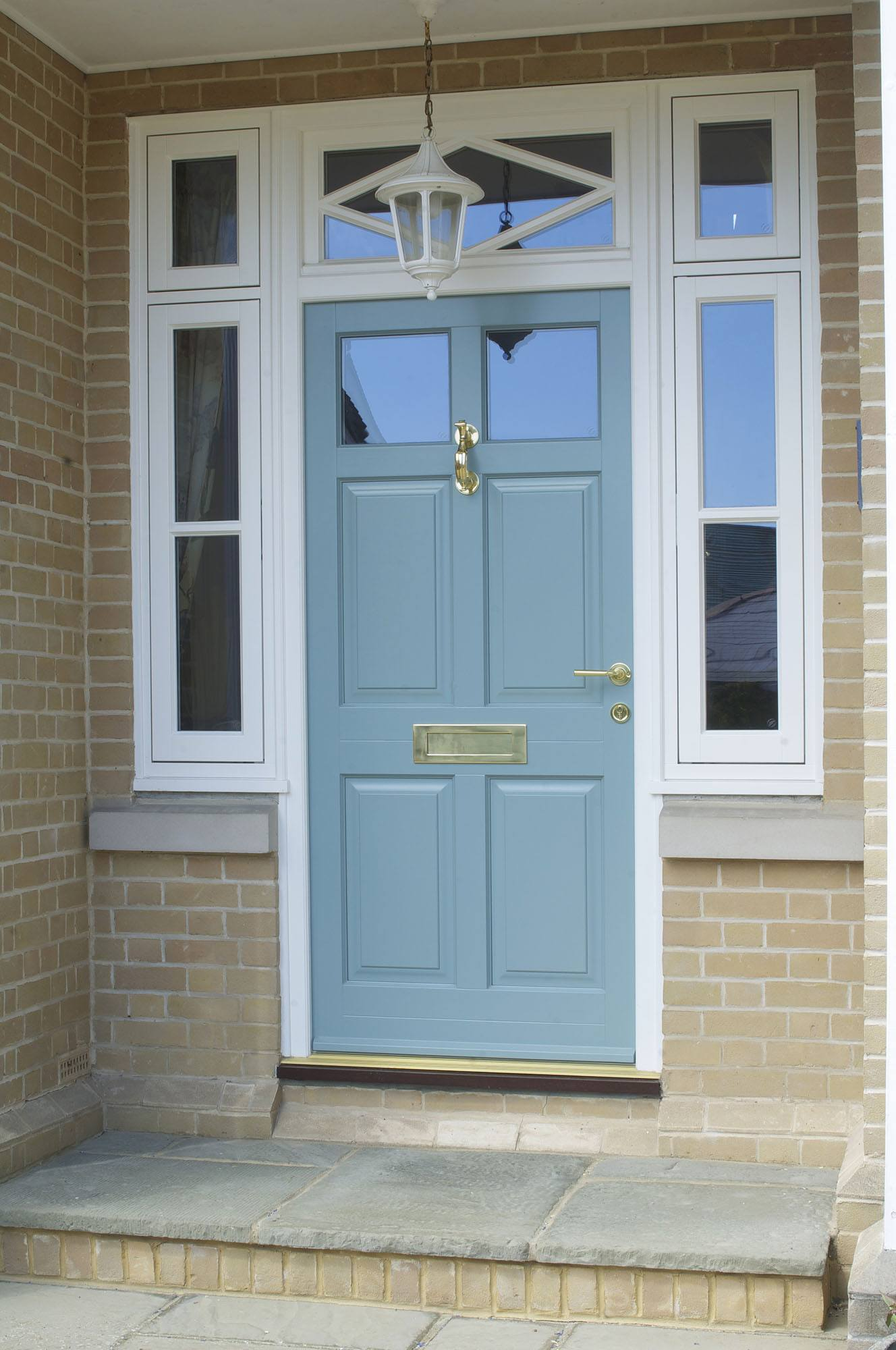 Timber entrance doors timber front door double glazed for Front door entrances