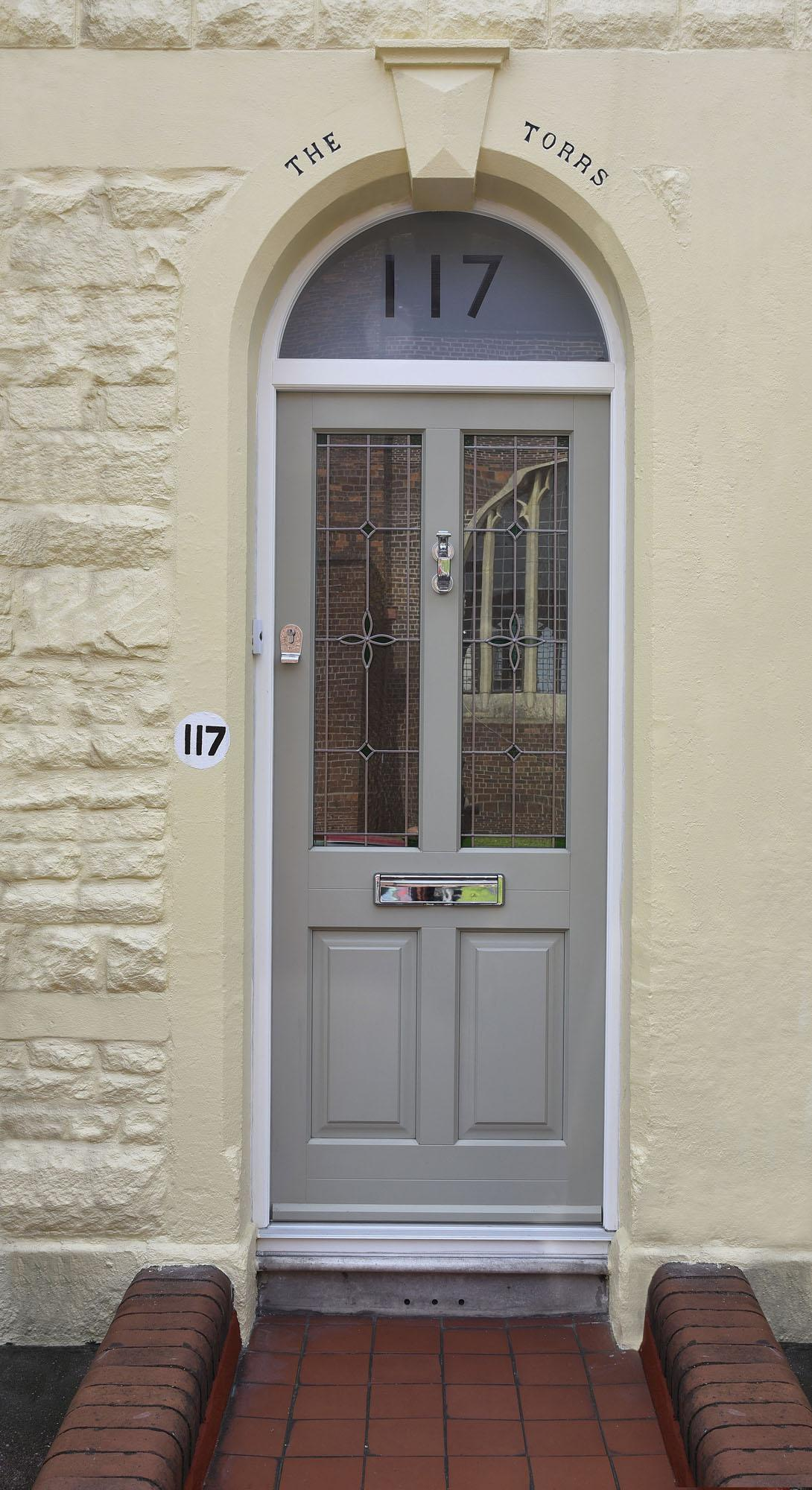 Timber entrance doors timber front door double glazed for Double door screen door