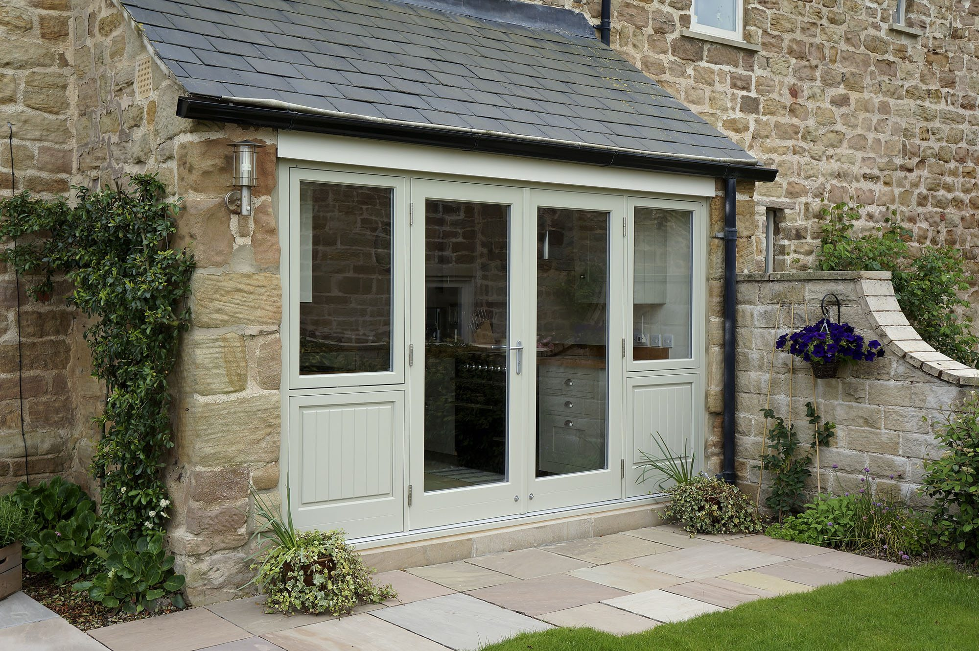 French Doors Bifold patio doors