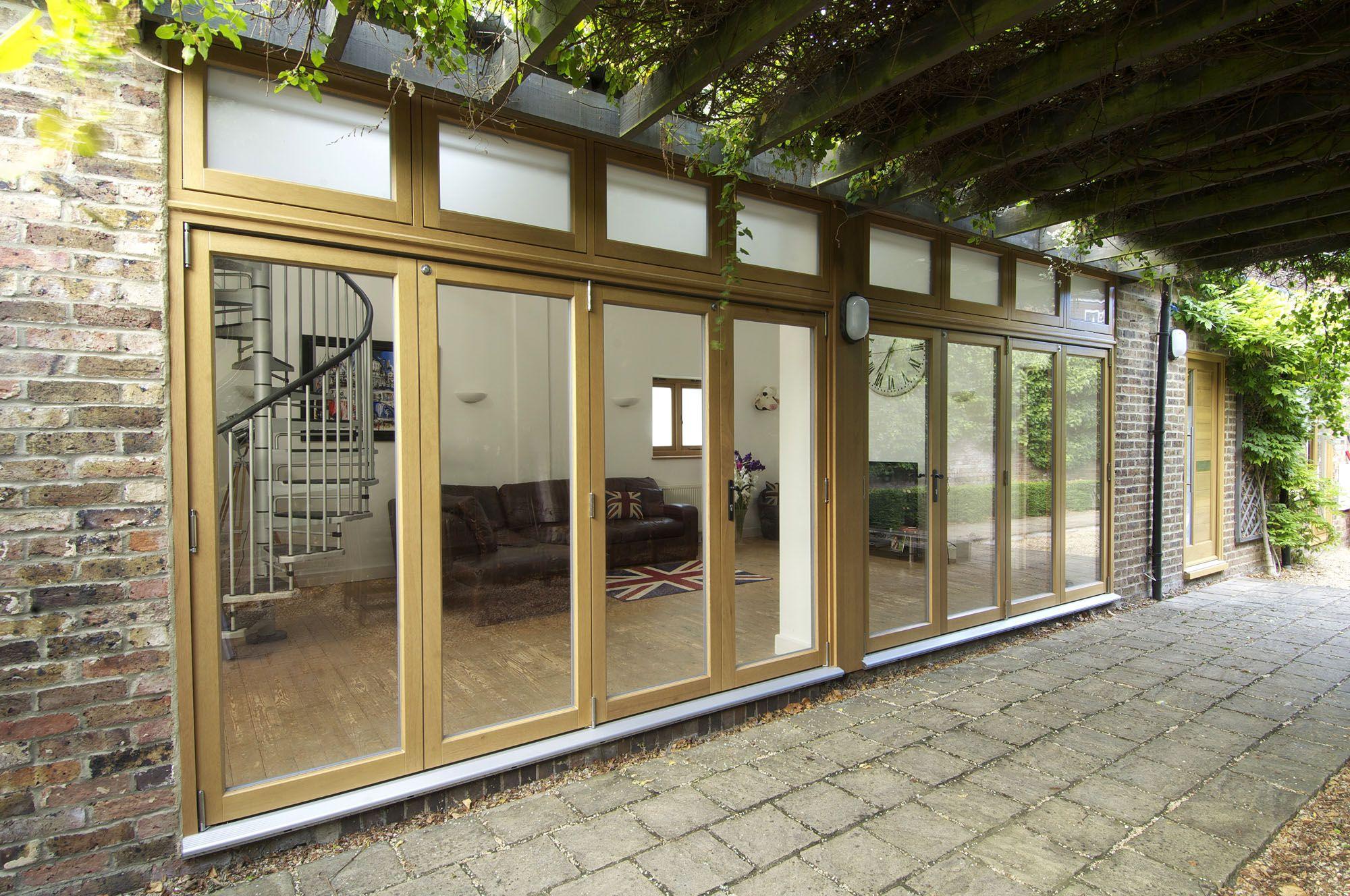 French Doors Bifold patio doors