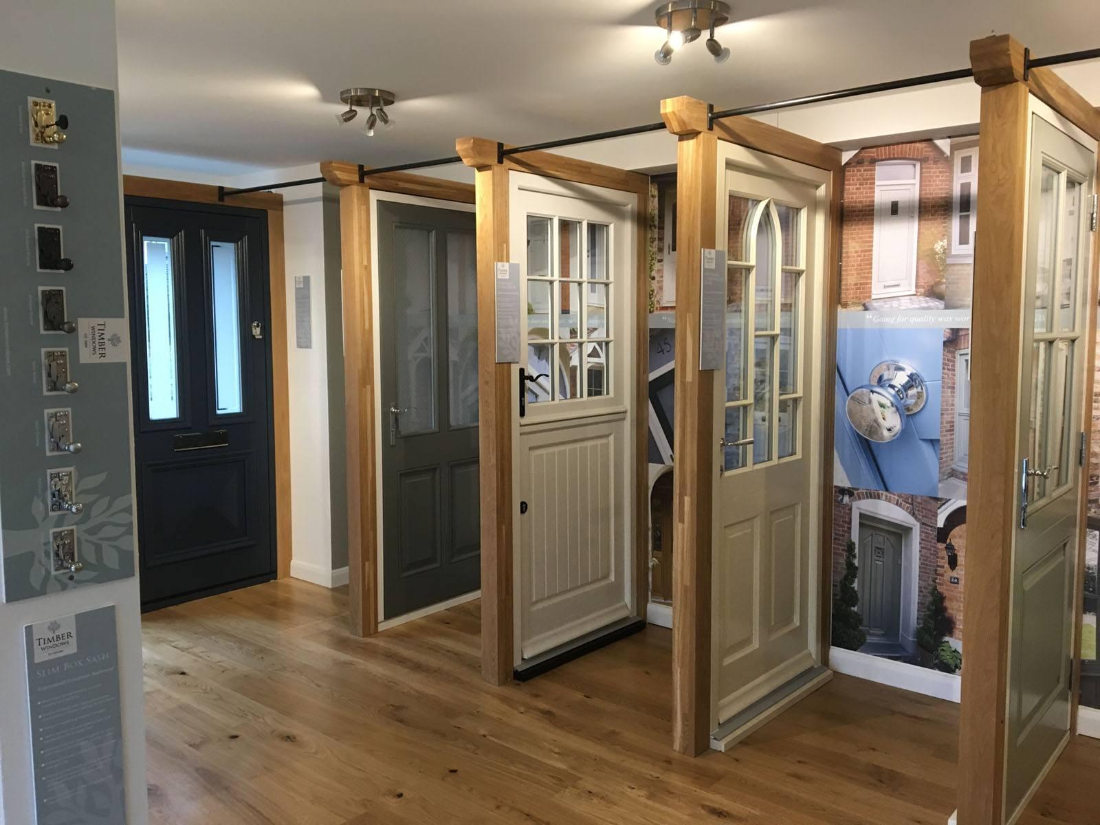 Timber Windows Oxford Showroom Bespoke Timber Doors