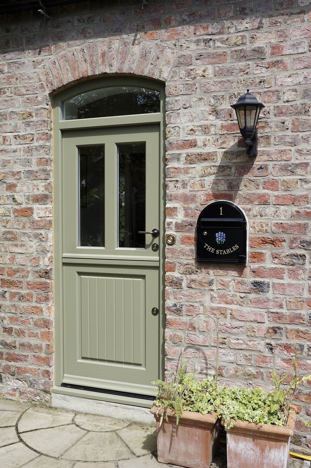 Case Study Yorkshire Timber Stable Door Stained
