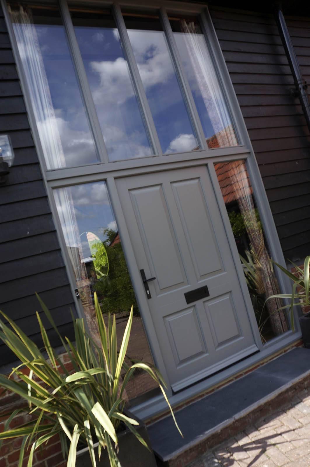 Contemporary Casement Windows Front Door Barn Conversion