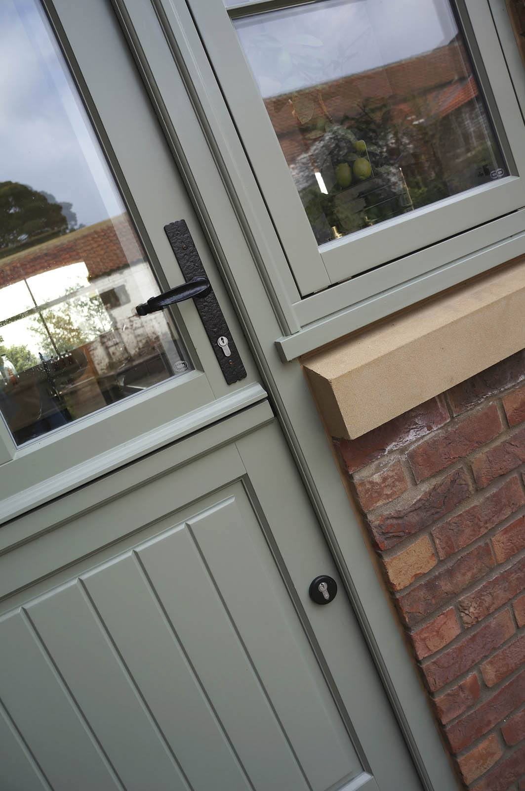 Case study yorkshire sash windows stable and french for Upvc french doors yorkshire