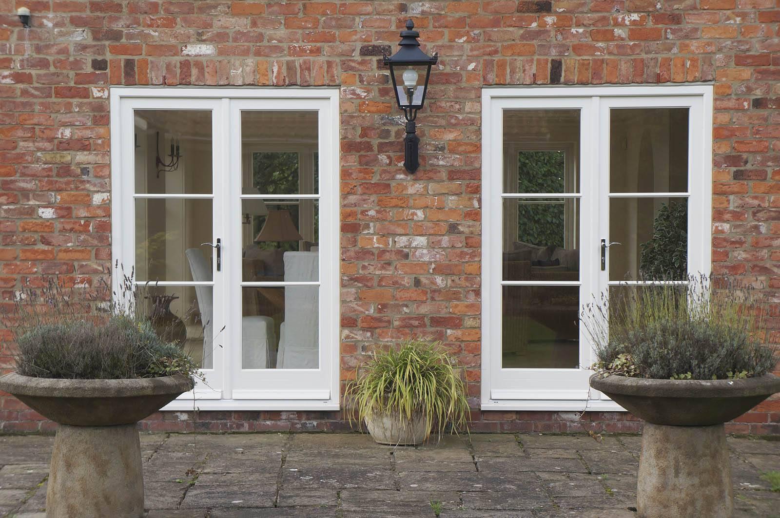 Case study yorkshire front door casement windows for Upvc french doors yorkshire