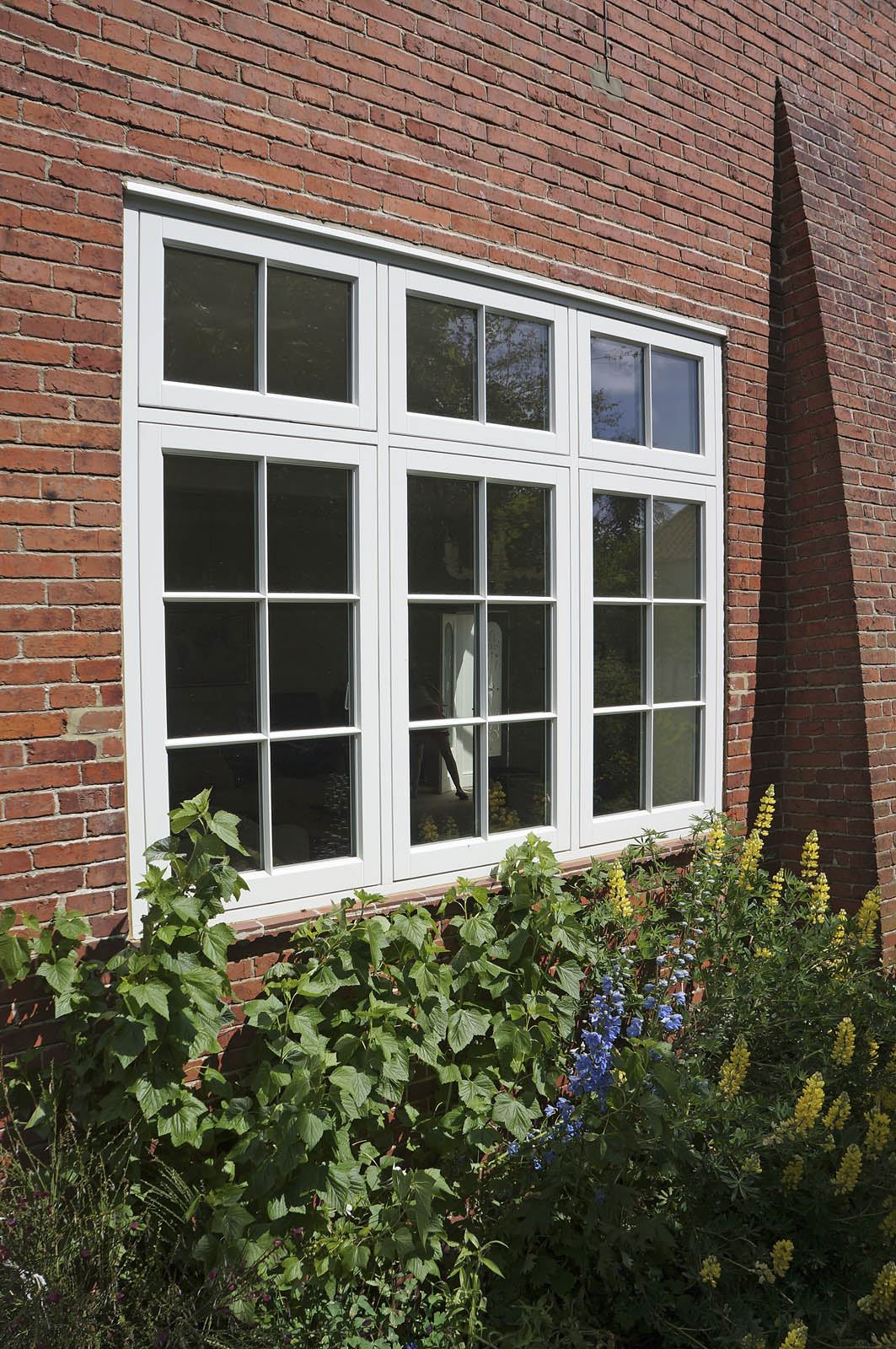 Case study scarborough large french doors casement for Large french windows