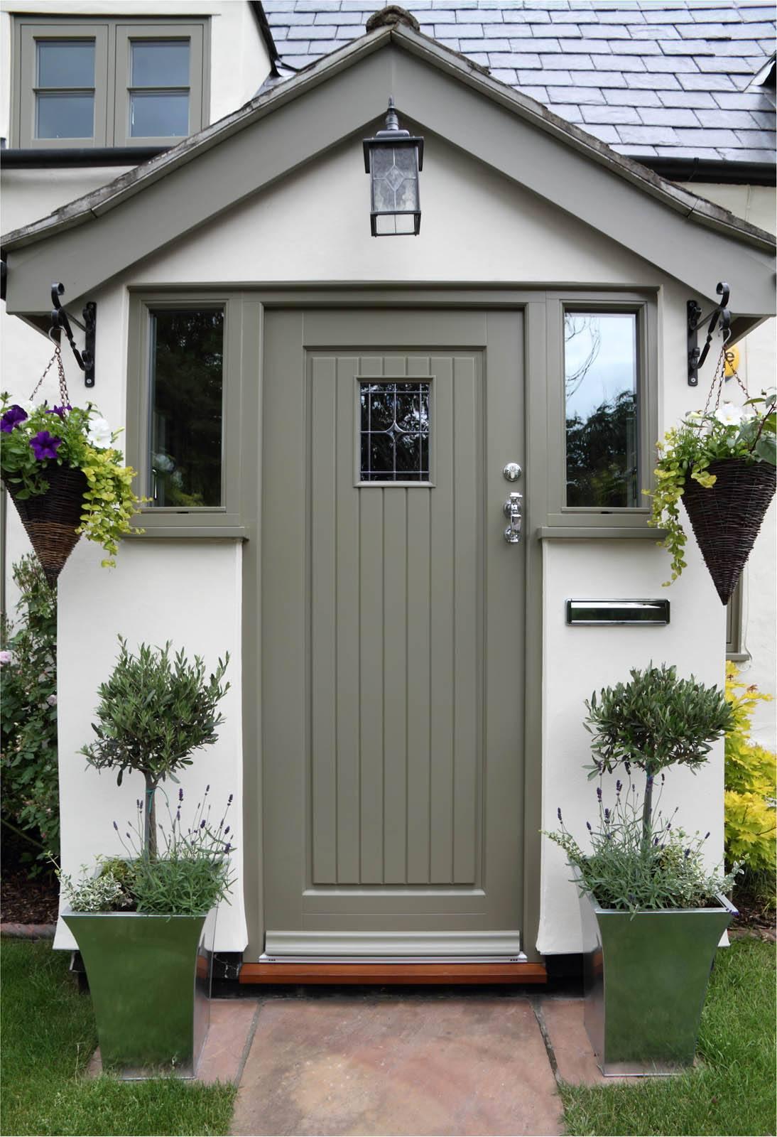 Case Study Essex Flush Casements Timber Front Door