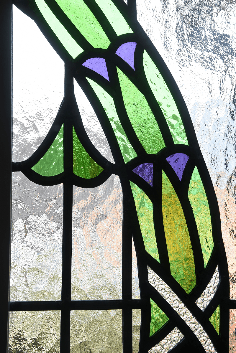 Stained Glass Etched Leaded Patterned Glass Designs