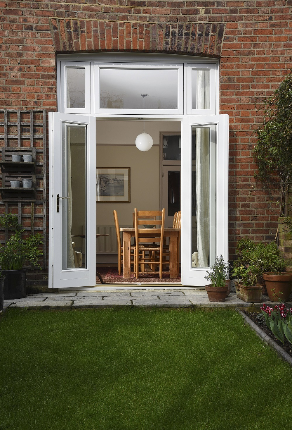 Authentic Slim Box Sash Windows Timber French Doors London